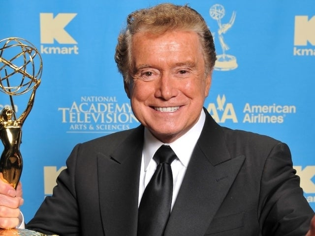 Rosie O'Donnell Posts Throwback Regis Philbin Interview in Tribute to Late 'Live' Icon