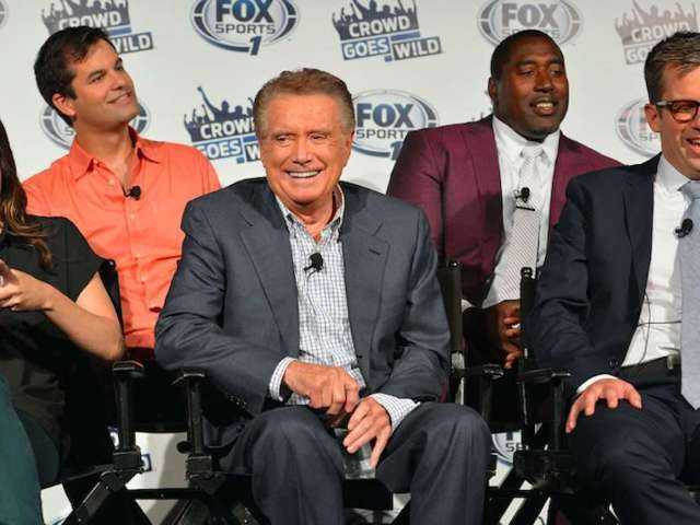 'Daily Show' Correspondent Michael Kosta Reflects on Time With 'Sincere' Regis Philbin on Fox Sports Show 'Crowd Goes Wild'