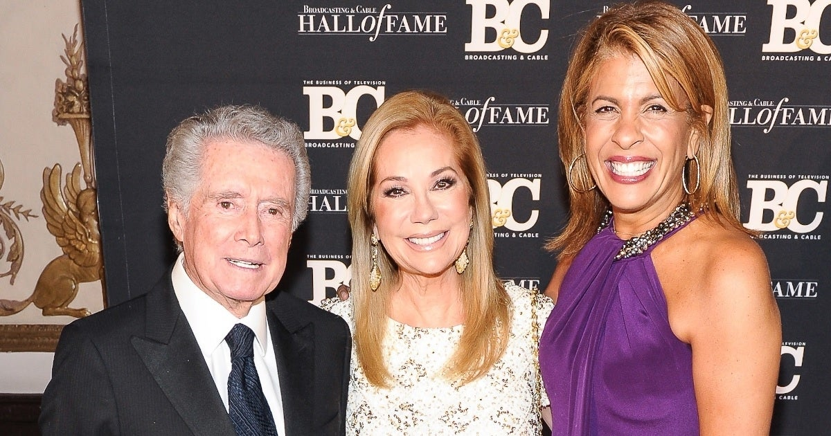 regis philbin kathie lee gifford hoda kotb getty images