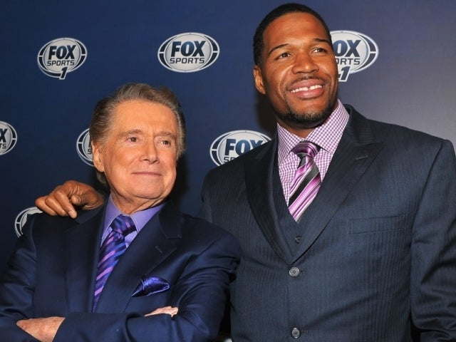 Michael Strahan Pays Tribute to Regis Philbin: 'He Always Made me Feel Special'