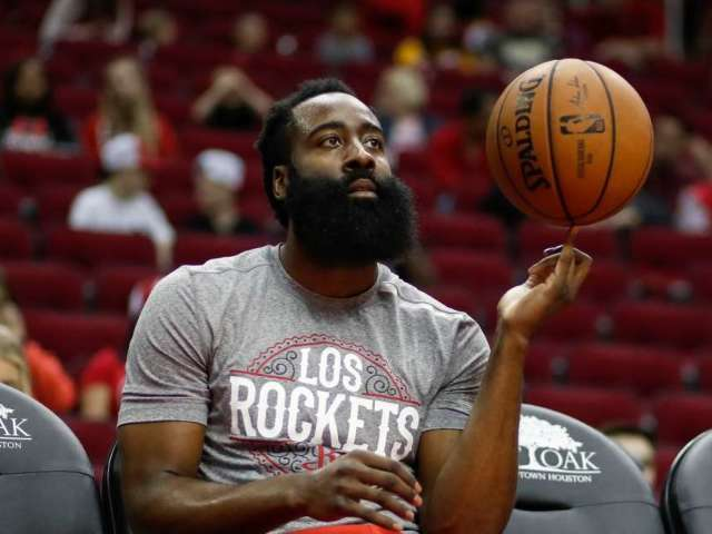 Rockets' James Harden Explains Why He Wore 'Thin Blue Line' Mask