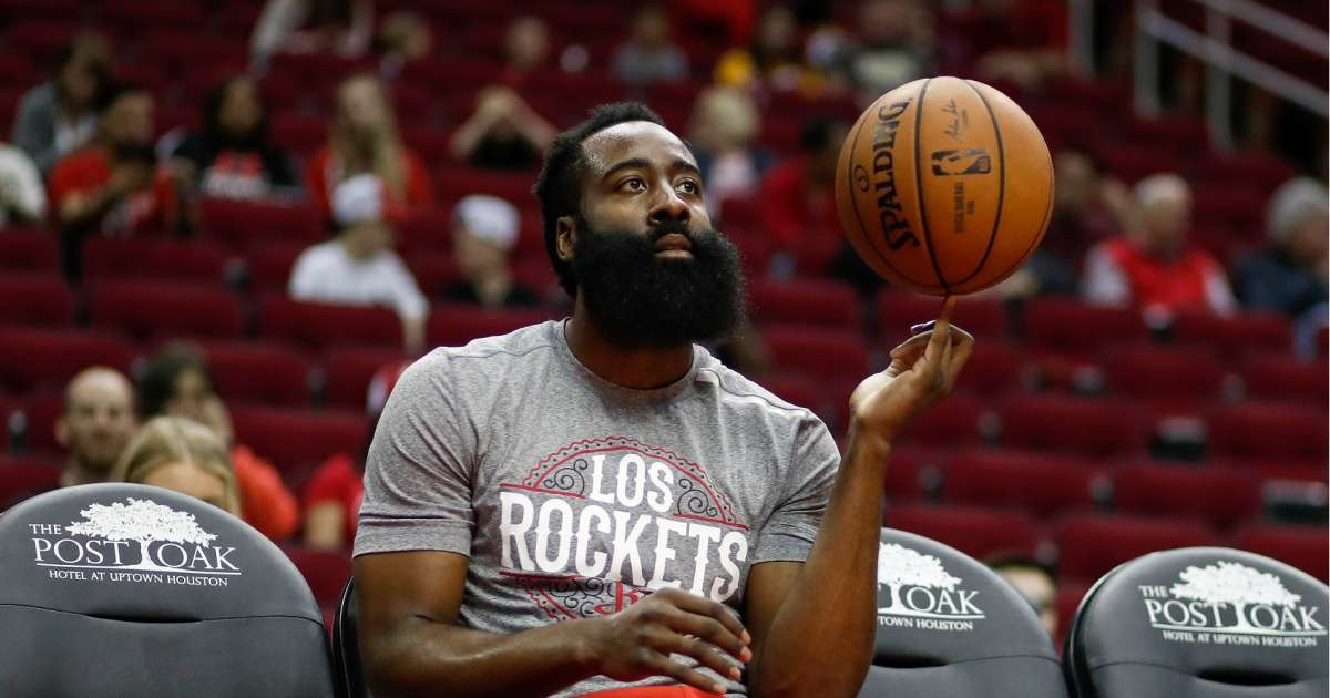 Rockets James Harden explains why wore thin blue line mask