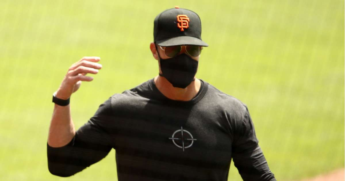 San Francisco Giants manager Gabe Kapler responds Donald Trump anti kneeling comments
