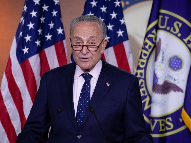 Chuck Schumer Accidentally Says 'Erection' in Donald Trump Impeachment Announcement and Twitter Is Roasting Him