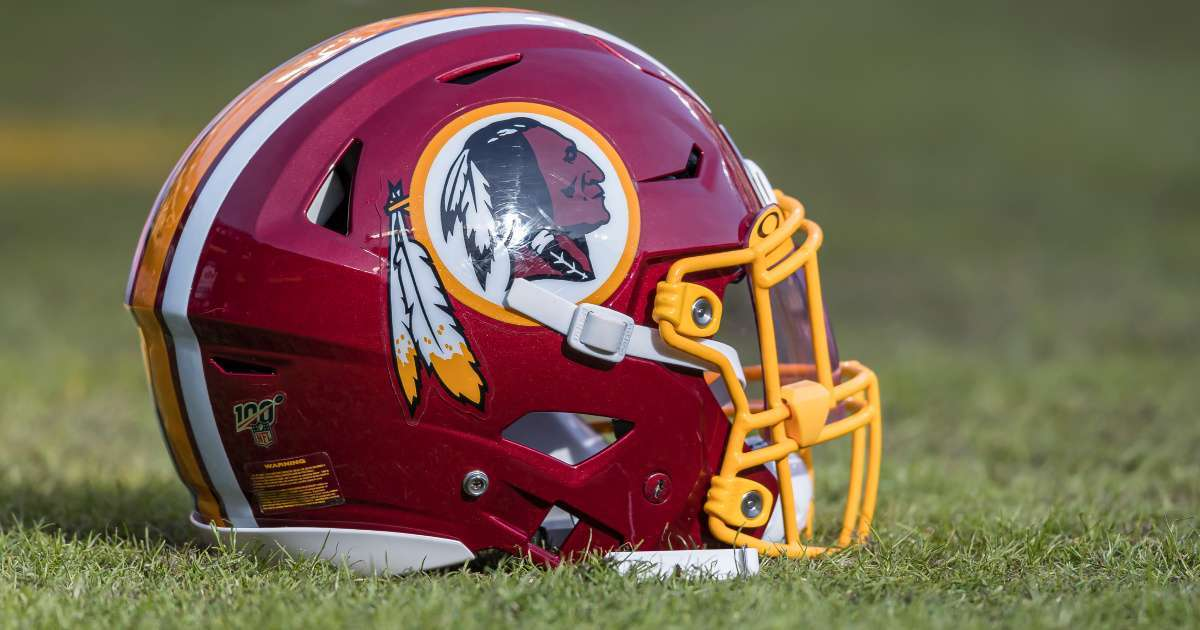 Son Redskins logo designer says name change hard