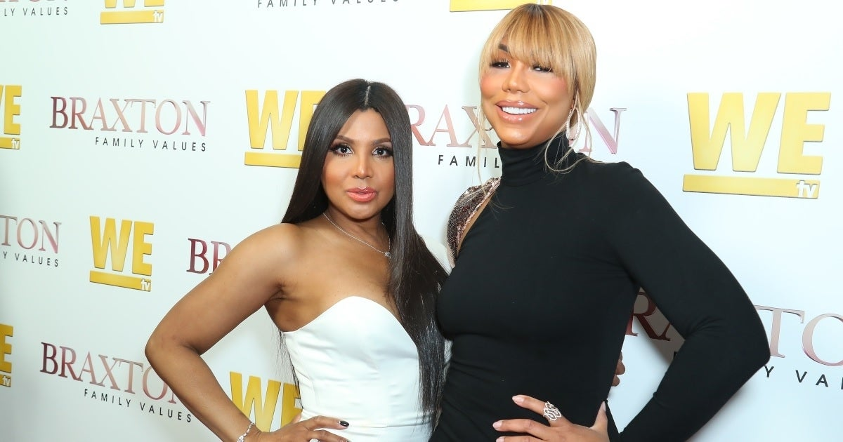 tamar braxton toni braxton getty images