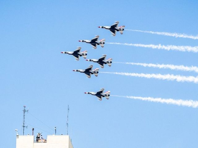 July 4th: Military Flyovers Planned in 4 Cities