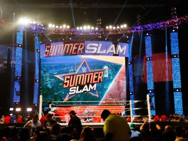 WWE Looking to Host SummerSlam at Outdoor Location