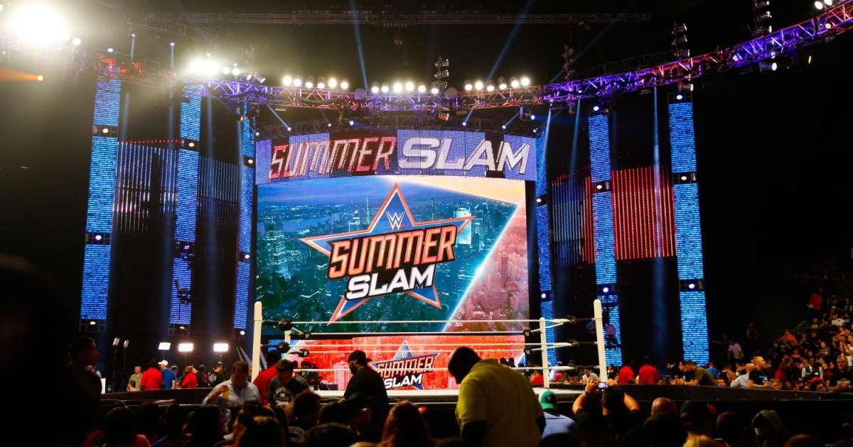 WWE host SummerSlam outdoor location