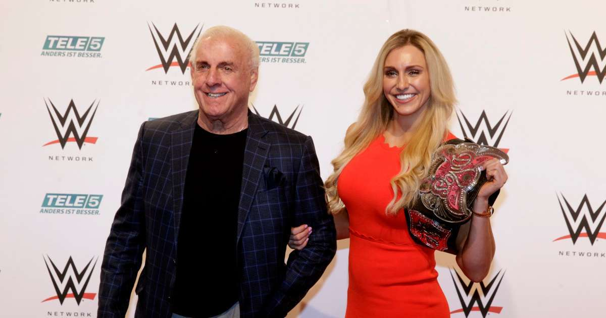 WWE Ric Flair pushes back against daughter Charlotte critics