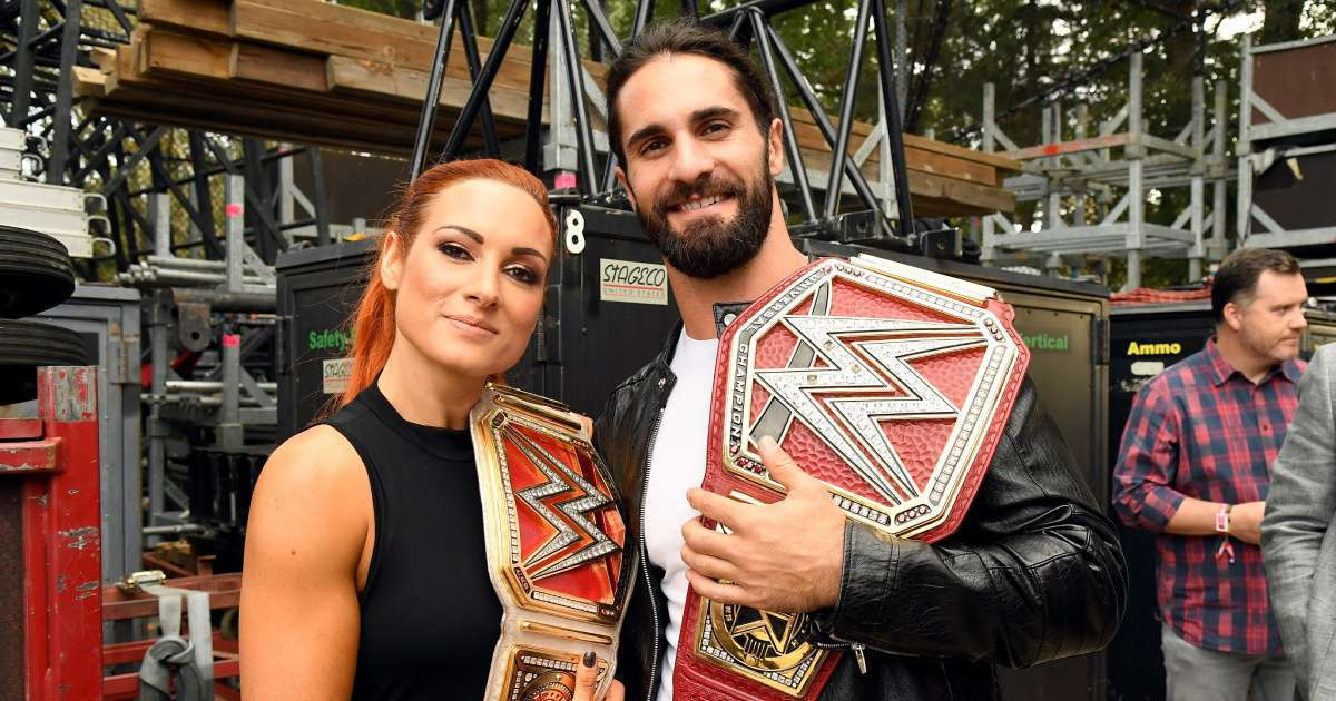 WWE Seth Rollins reveals Becky Lynch plans after pregancy