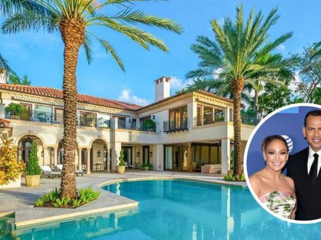 Peek Inside Alex Rodriguez and Jennifer Lopez's Former $40M Miami Island Estate