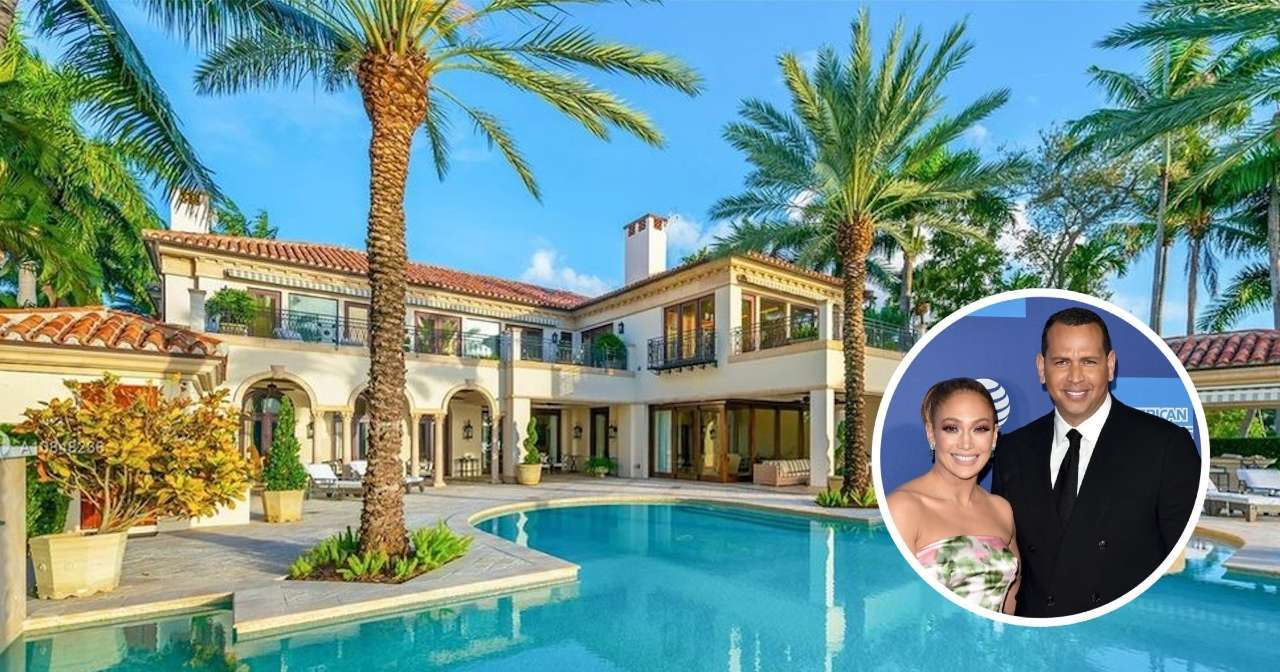 Alex Rodriguez Jennifer Lopez Miami estate