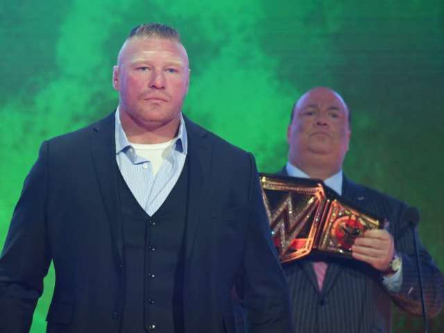Brock Lesnar Reportedly No Longer With WWE
