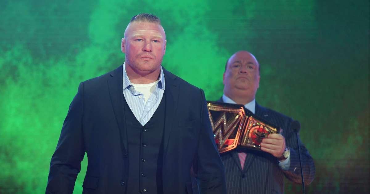 Brock Lesnar no longer WWE
