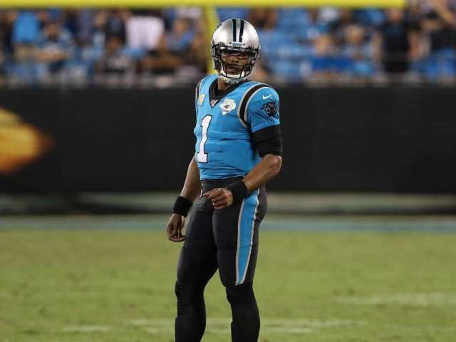 First Official Photo of Cam Newton in Patriots Jersey Revealed