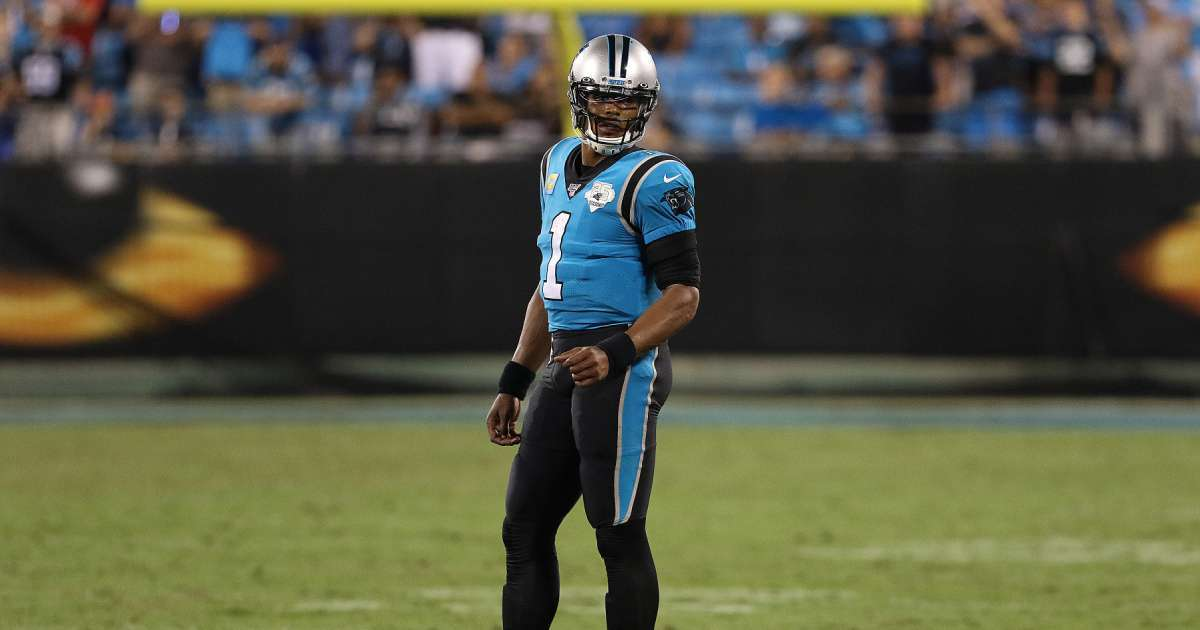 Cam Newton Patriots jersey first photo revealed