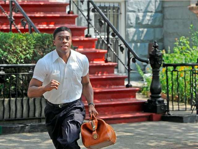 '42' Fans Are Mourning Chadwick Boseman, Who Played Jackie Robinson in the Acclaimed Biopic