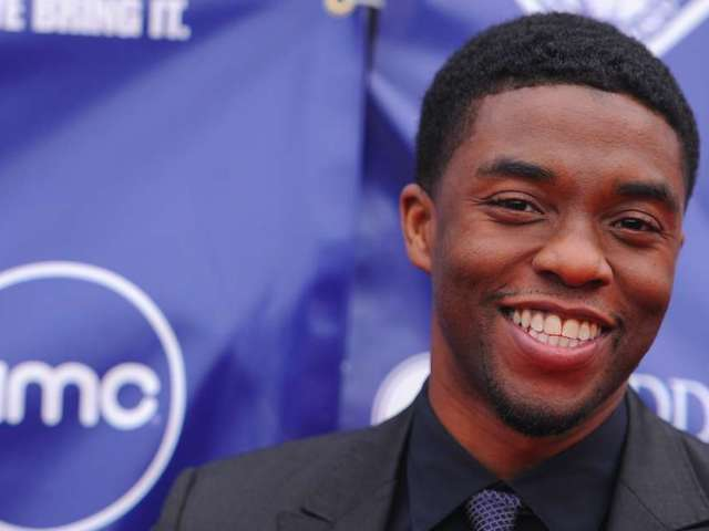 Chadwick Boseman: 7 Photos From the '42' Premiere