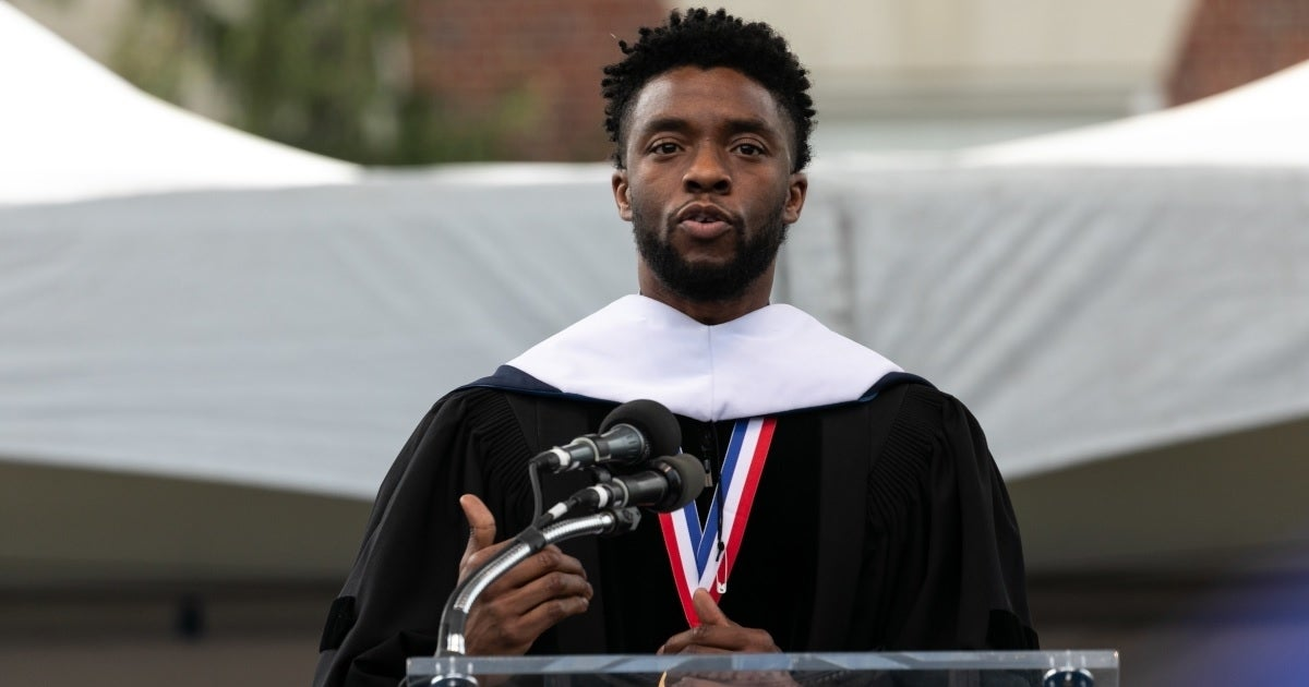 chadwick boseman howard university getty images