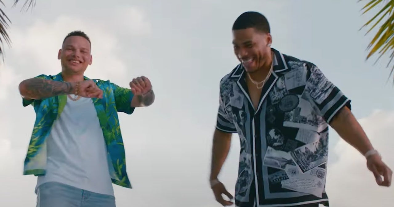 Kane Brown and Nelly Hit the Beach for 'Cool Again' Remix