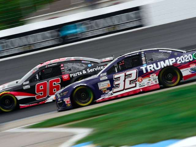 Go Fas Racing Owner Had 'No Problem' With Trump 2020 Logos Despite Taking a Lot of Grief