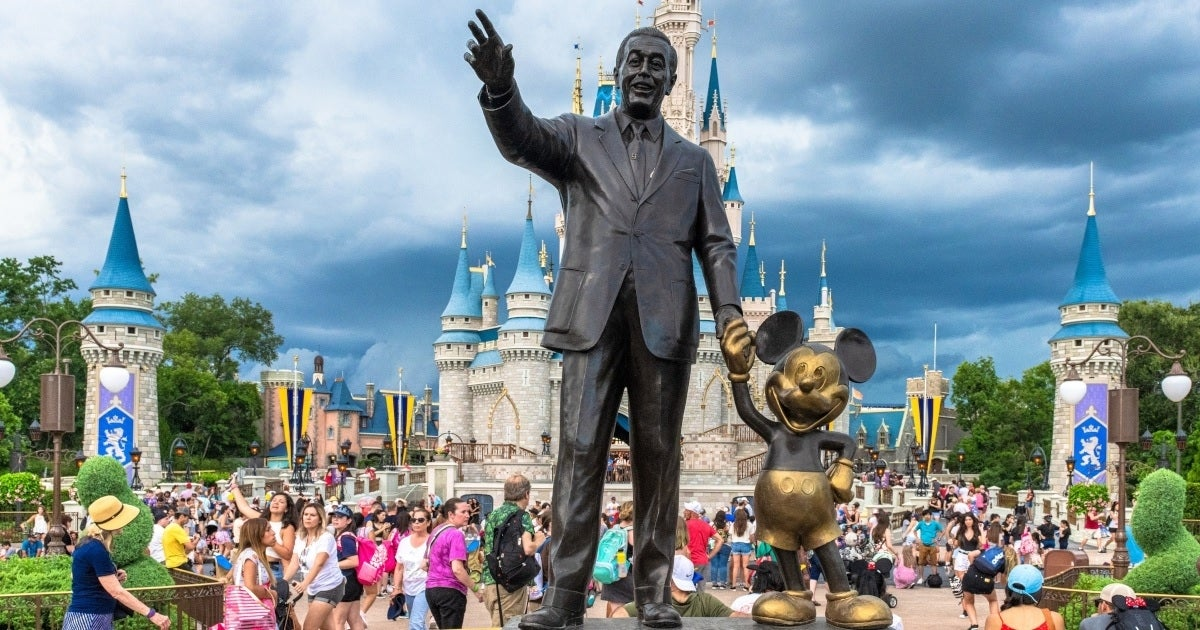 disney world statue getty images