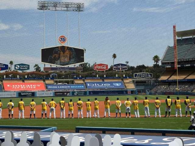 Dodgers Players Wear Kobe Bryant Jerseys to Celebrate 42nd Birthday