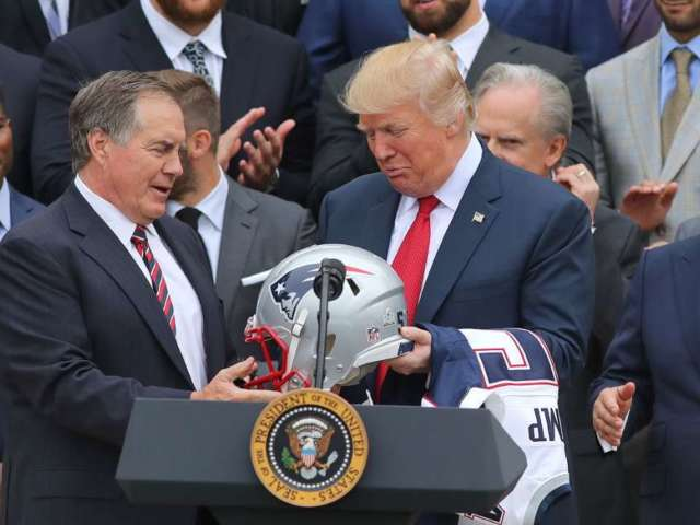 Donald Trump Says Patriots Coach Bill Belichick Would Make a Good General