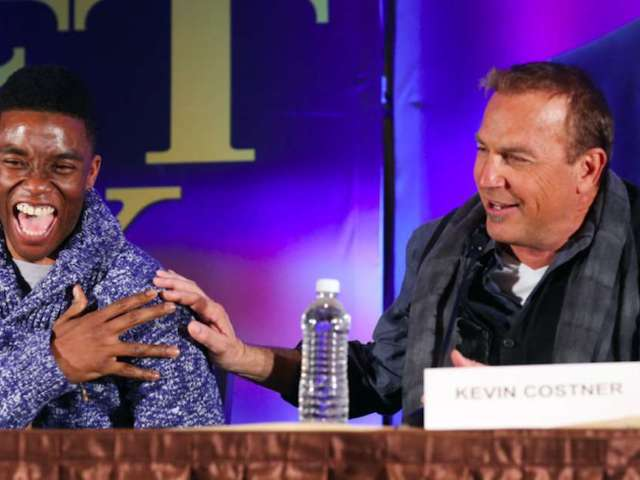 Kevin Costner 'Heartbroken' Over 'Draft Day' Co-Star Chadwick Boseman's Death
