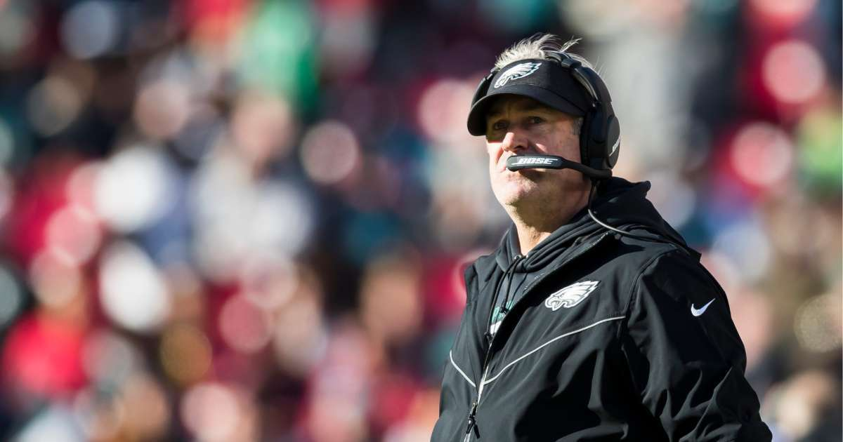 Eagles coach Doug Pederson tests positive coronavirus