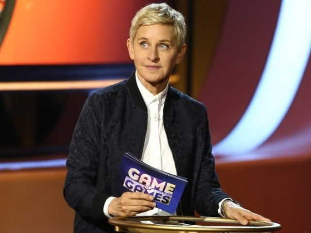 Ellen DeGeneres' Hollywood Walk of Fame Star Vandalized After QAnon Rally