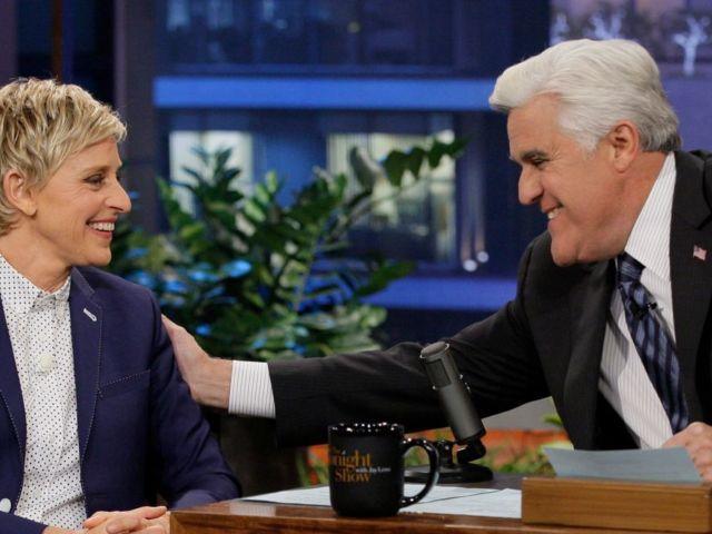 Jay Leno Says He 'Fully Supports' Ellen DeGeneres Amid Show Scandal