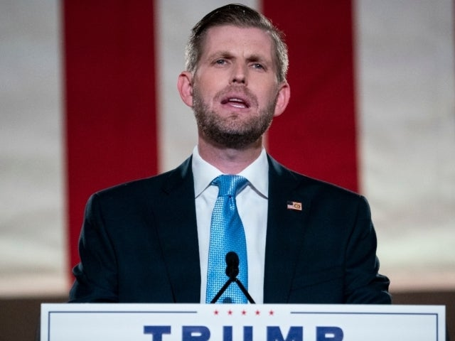 Why Eric Trump Is Getting Slammed for Tweet About Joe Biden's House