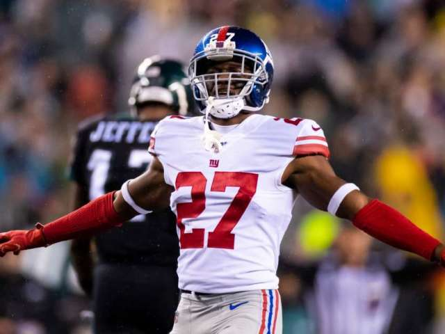 Giants' DeAndre Baker Charged With 4 Counts of Armed Robbery With a Firearm