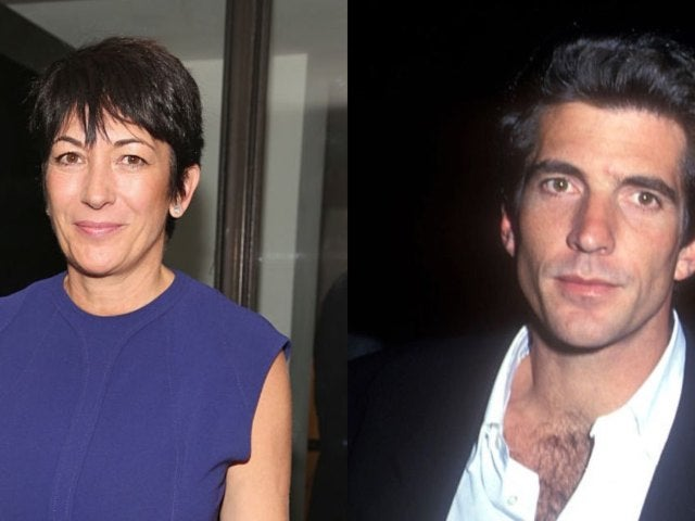 Ghislaine Maxwell Allegedly Hooked up With John F. Kennedy Jr.