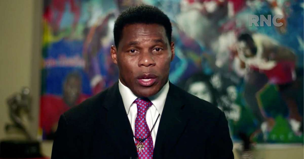 Herschel Walker praises Donald Trump RNC not racists