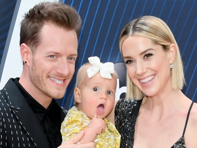 Tyler Hubbard Is Dad Goals While Painting Daughter Olivia's Nails