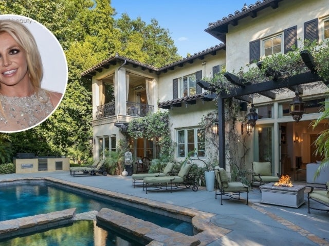 Tour Britney Spears' $6.8M Beverly Hills Villa-Style Mansion
