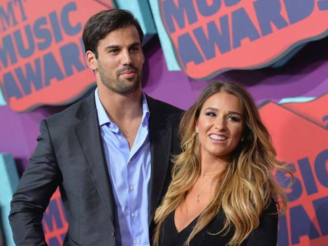 Eric Decker Poses for Cheeky Poolside Snaps With Wife Jessie James