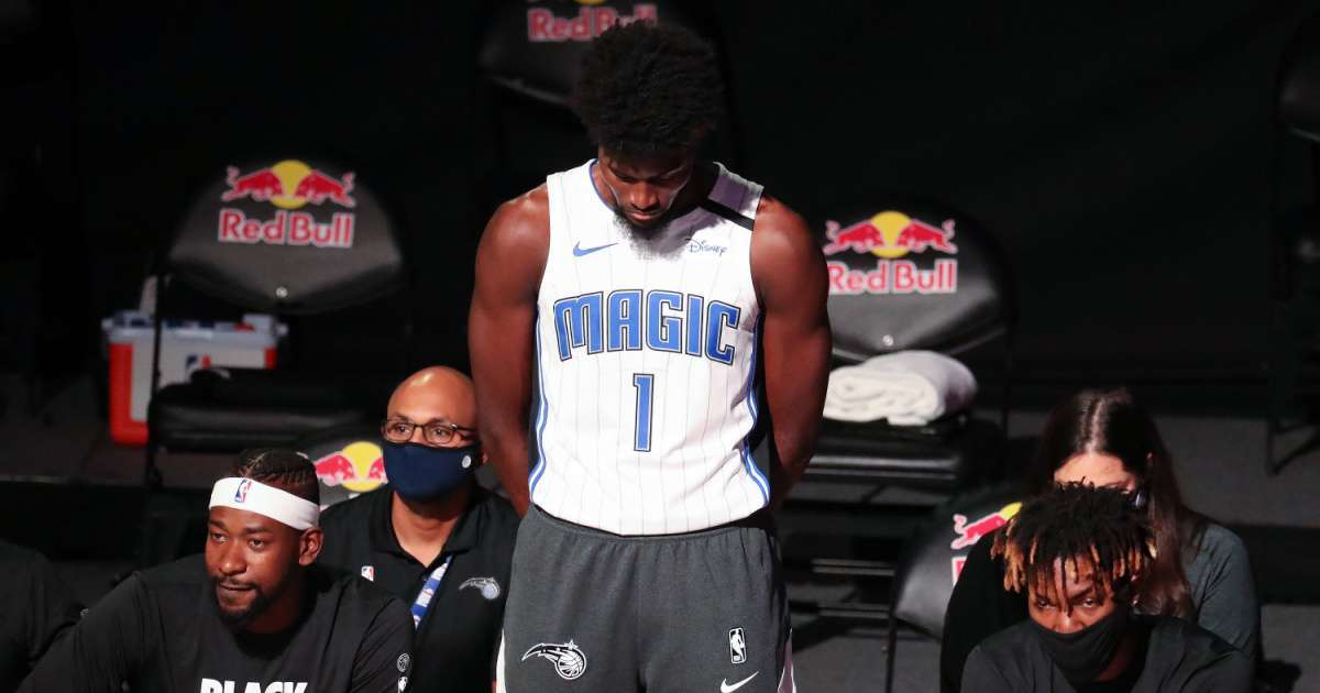 Jonathan Isaac What to know NBA player refused kneel with teammates