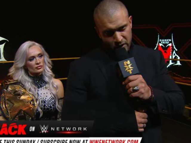 WWE's Karrion Kross Injured, Relinquishes NXT Title