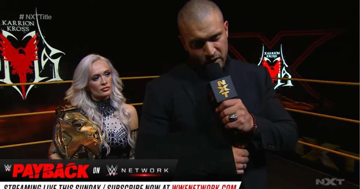 Karion Kross relinquish NXT Championship