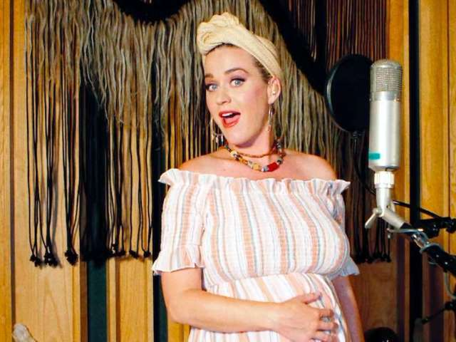 Katy Perry Previews Baby's Nursery as Birth of First Child With Orlando Bloom Inches Closer