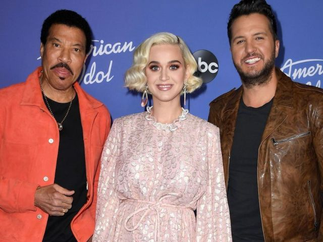 Watch: Katy Perry Pelts Luke Bryan With 'Roll Tide' Chants on Set of 'American Idol'