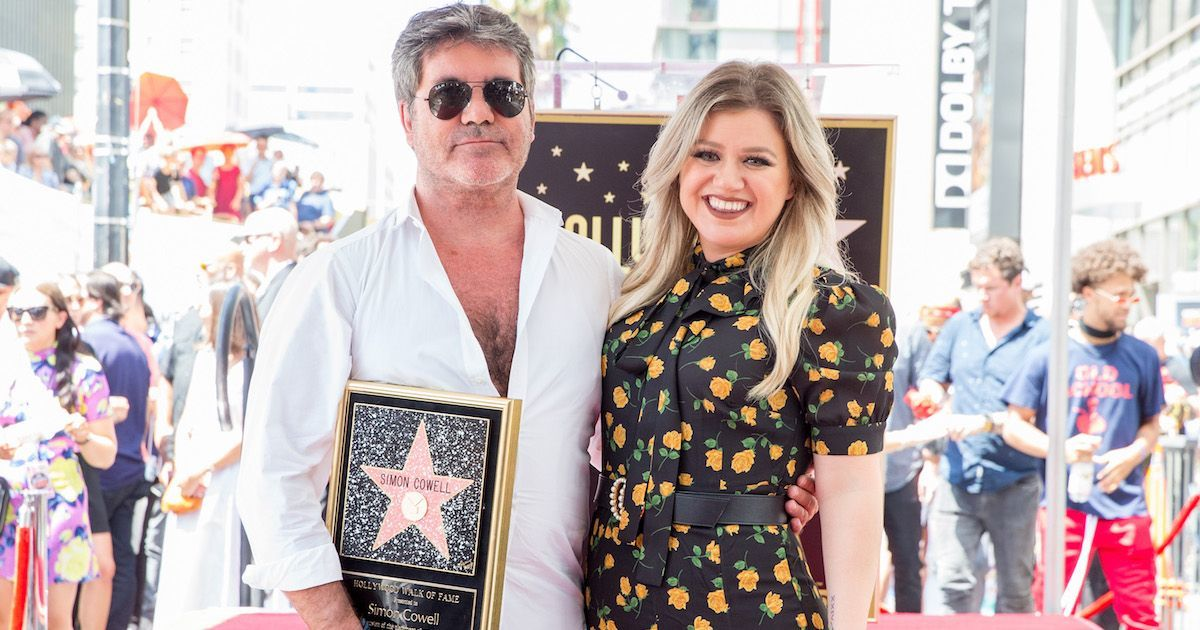 kelly-clarkson-simon-cowell-getty