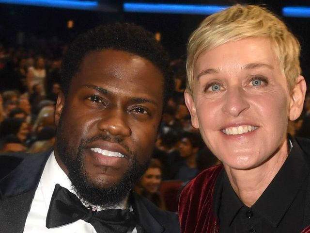 Kevin Hart Explains Why He's Standing up for Ellen DeGeneres Amid Controversy