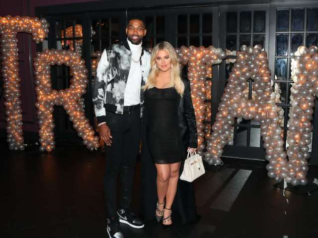 Khloe Kardashian Denies Pregnancy Rumor After Revealing Halloween Costume With Tristan Thompson