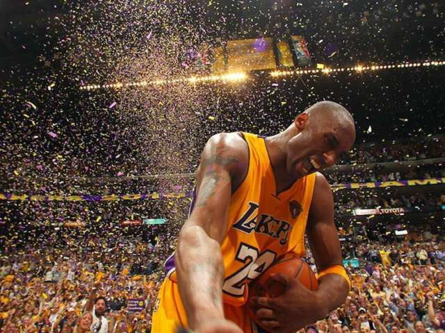 Floor Signed by Kobe Bryant During His Last Staples Center Game Sells for $631K