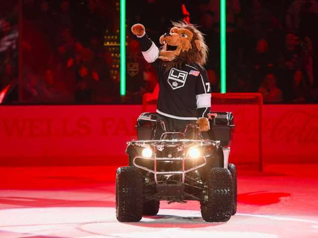 LA Kings Mascot Accused of Sexual Harassment, Suspended